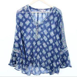 Calypso St. Barth | silk blouse